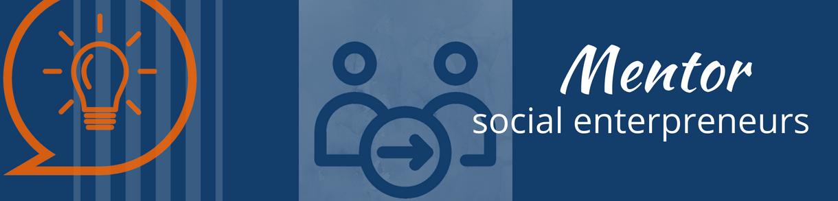 Mentor social entreprenuers